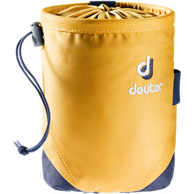 Deuter Gravity Chalk Bag I L curry-navy
